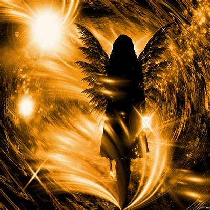 Angel Angels Warrior Fallen Fantasy Golden Heaven