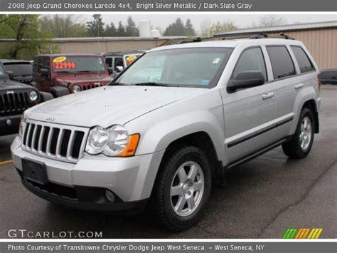 jeep laredo 2008 bright silver metallic 2008 jeep grand cherokee laredo