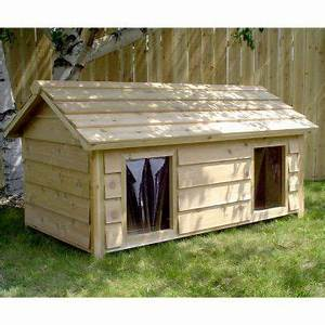 1000 ideas about insulated dog houses on pinterest dog With insulated double dog house