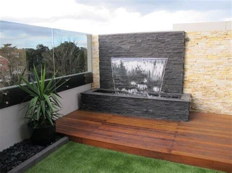 25 best water walls ideas on outdoor water
