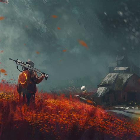 Missing Alone Boy In Destiny 2 Farm Art, Full Hd 2k Wallpaper