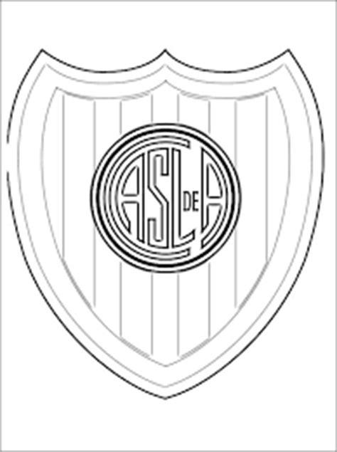 escudos de clubes argentinos  imprimir  colorear
