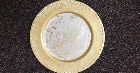 Decorate Dollar Tree Charger Plates to Match Your Décor
