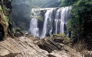 Delightful Flowing Waterfall