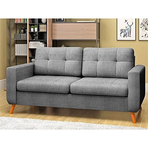 Fabric Settees And Sofas by Feifeiyo 3 Seater Sofa And 2 Seater Fabric Grey Sofa