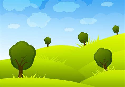 cartoon landscape vector   vectors clipart