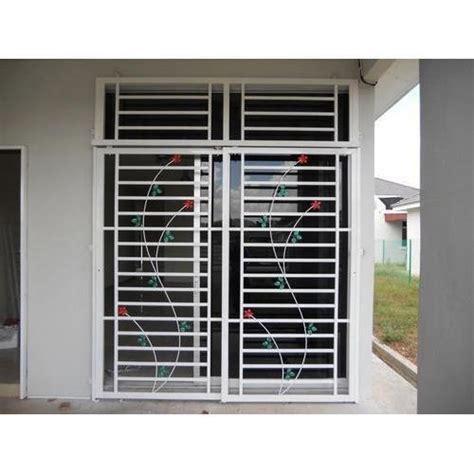 Bedroom Window Grill by Multicolor Standard Stainless Steel Window Id 14498786433