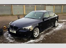 2005 BMW E60 530d MSport in Carbon Black,Black Leather