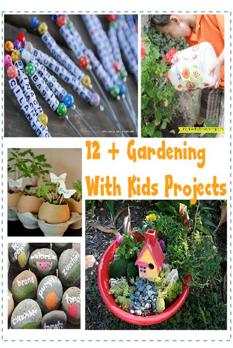 simple gardening  kids projects ideas lots