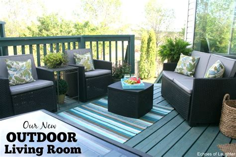 Our New Outdoor Living Room  Echoes Of Laughter