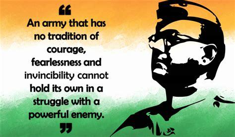 10 Motivational Thoughts Of Netaji Subhash Chandra Bose