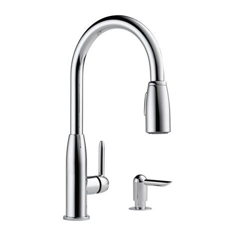Peerless Faucet P188103LF S Contemporary Pull Down Kitchen