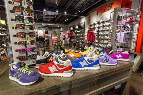Models Sports Stores by 1st New Balance Store Opens In News Is My