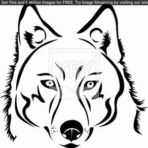 Head Outline Symbol Drawing Cartoon Dog Wolf Of A In Style ...
