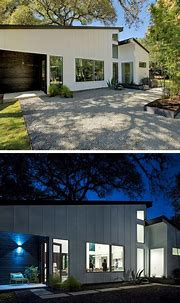 This L-Shaped House In Texas Opens Up For Indoor / Outdoor ...