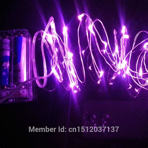 purple 2m 20led silver string lights cellphone of the day