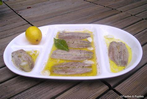 cuisiner des sardines fraiches sardines fraîches marinées à l 39 huile d 39 olive et au citron