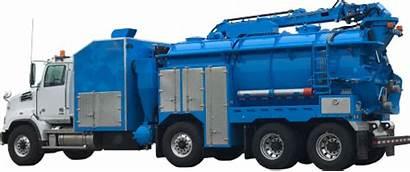 Hydrovac Tank Water Axle Yard Truck Debris
