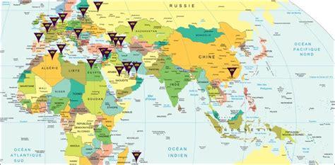 Carte Du Monde Dubai by Carte Du Monde Dubai Voyages Cartes