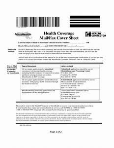 masshealth mail or fax cover sheet free download With fax cover sheet masshealth