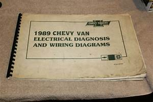 1989 Chevrolet Truck Chevy Van Electrical Diagnosis Wiring Diagrams St
