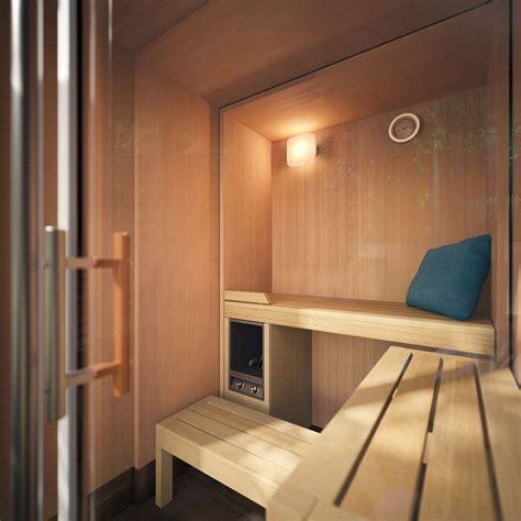 Sauna para uso residencial - S1 MANUAL - KLAFS - de madera ...