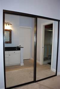 mirror sliding closet doors Sliding Mirror Closet Door Frame