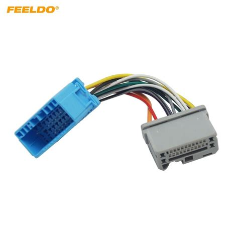 Feeldo Car Stereo Audio Wire Cable Adapter For Honda