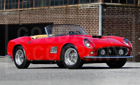 ferrari california 1961 1961 ferrari 250gt california swb spyder photo