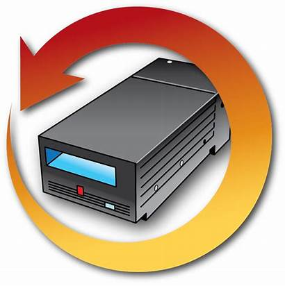 Data Library Management Tape Drive Lifecycle Icon