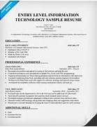 Entry Level Information Technology Resume Sample Http Sample Information Technology Resume Examples Example Information Technology Analyst Resume Sample 17 Best Images About Information Technology IT Resume Templates