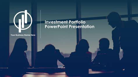 investment portfolio premium powerpoint template slidestore