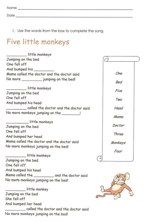First Grade English Worksheets To Print  Learning Printable