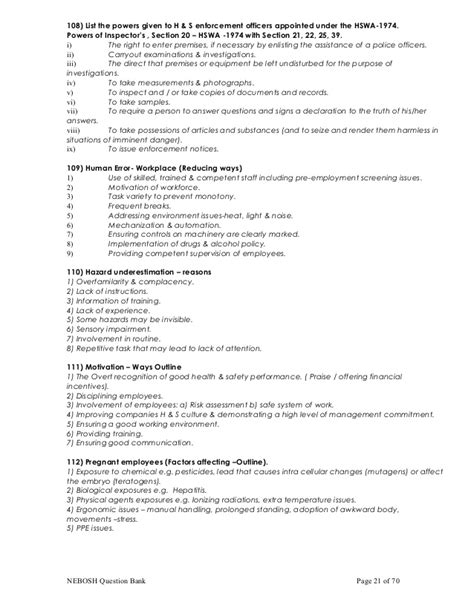 section 21 notice template 28 images nebosh important
