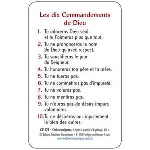 les 10 commandements de dieu plastifi 233 s boutique chr 233 tienne