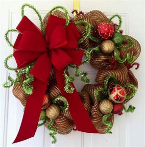 Home Interior And Gifts Inc Ribbon Christmas Wreath ...