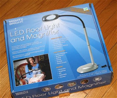 Hobby Lobby Magnifier Floor L by Meari S Musings Mighty Bright Led Floor Light And Magnifier