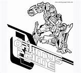 Transformers Pages Template Colouring Templates Prime Coloring sketch template