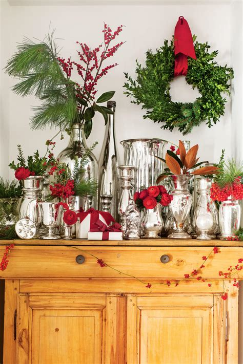 how much does a live christmas tree cost this home is filled with vintage decor ideas southern living