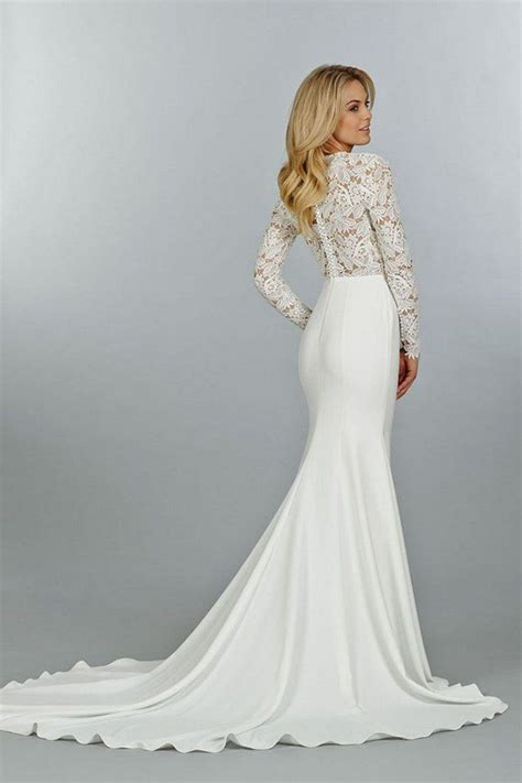 long sleeve wedding dresses perfect  gowns  fall