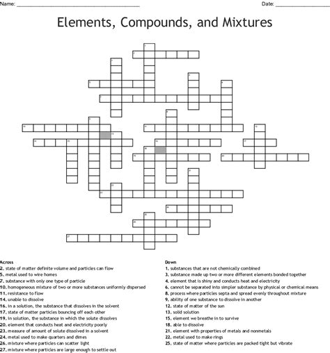 elements compounds mixtures worksheet answers newatvsinfo