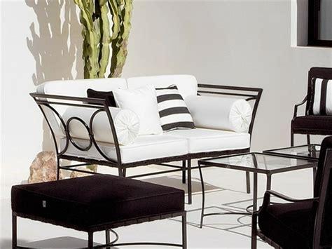 mobilier de jardin en metal splendeur du mobilier de jardin en m 233 tal et fer forg 233