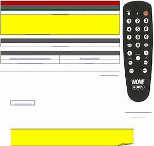Wow Evolution Dta Remote Control Manual Pdf View  Download