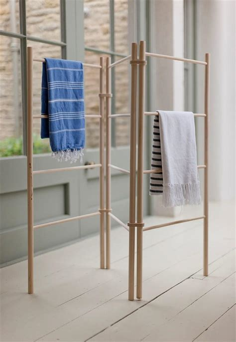wooden zig zag clothes dryer clothes airer heaven in earth