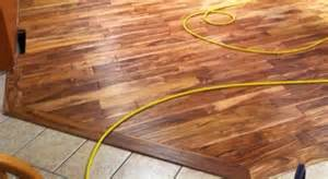 Wood To Carpet Transition Strips by How Do I Install Transition Molding Between My New