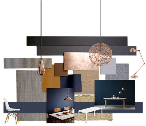 refined and understated elegance material palette