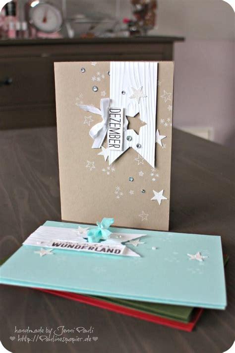 Inspirationen Für Karten  Weihnachtskarten Christmas