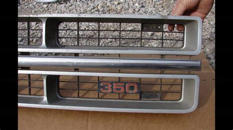 gmc chrome grille truck pick  jimmy suburban