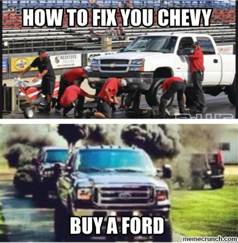 Ford Vs Chevy Meme - chevy sucks memes www imgkid com the image kid has it