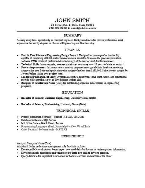 profile summary for resume exles exles of resumes